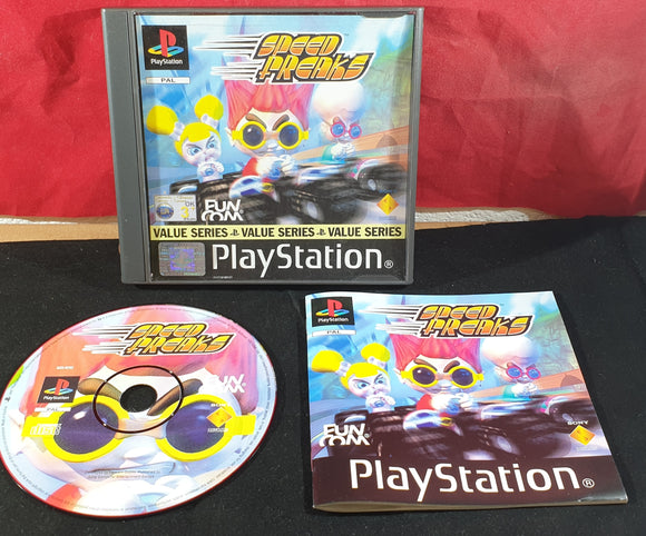 Speed Freaks AKA Speed Punks Value Series Sony Playstation 1 (PS1) Game