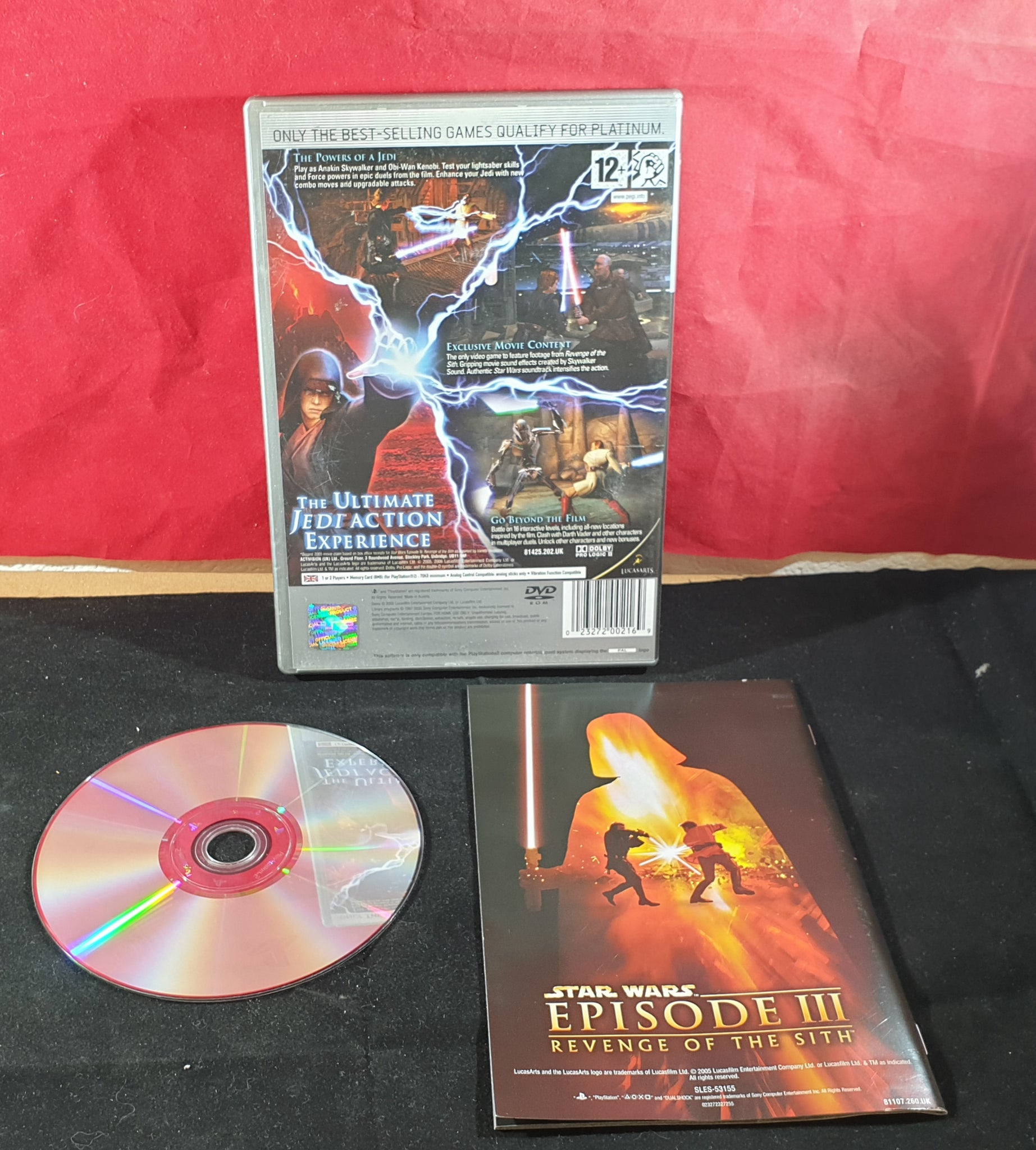 Star Wars Episode III Revenge of the Sith Platinum Sony