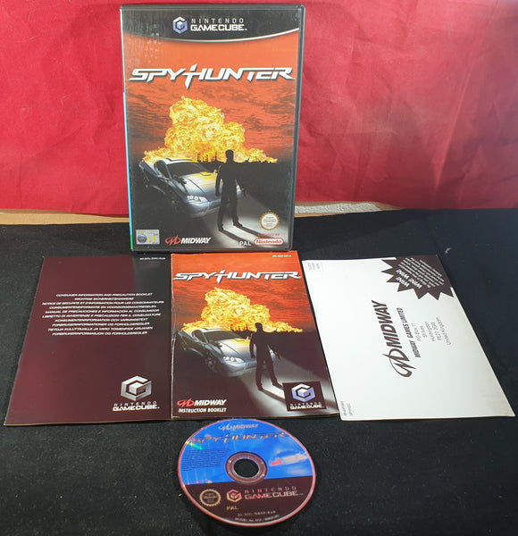 Spy Hunter with Manual Nintendo GameCube Game