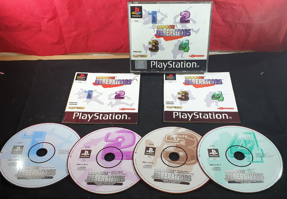 Capcom Generations Sony Playstation 1 (PS1) Game