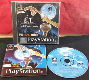 E.T the Extra-Terrestrial Interplanetary Mission Sony Playstation 1 (PS1) Game