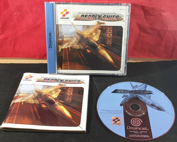 Deadly Skies Sega Dreamcast Game