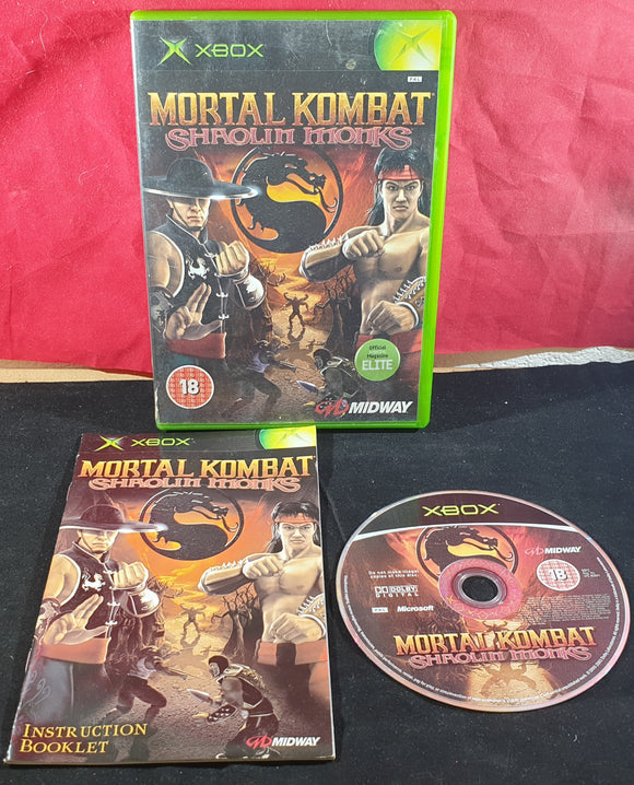 Mortal Kombat Shaolin Monks Microsoft Xbox Game
