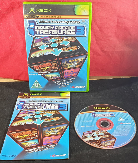 Midway Arcade Treasures 3 Microsoft Xbox Game