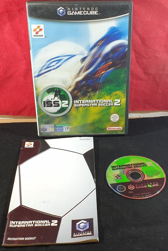 International Superstar Soccer 2 Nintendo GameCube Game