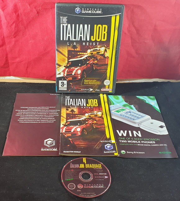 The Italian Job L.A. Heist Nintendo GameCube Game