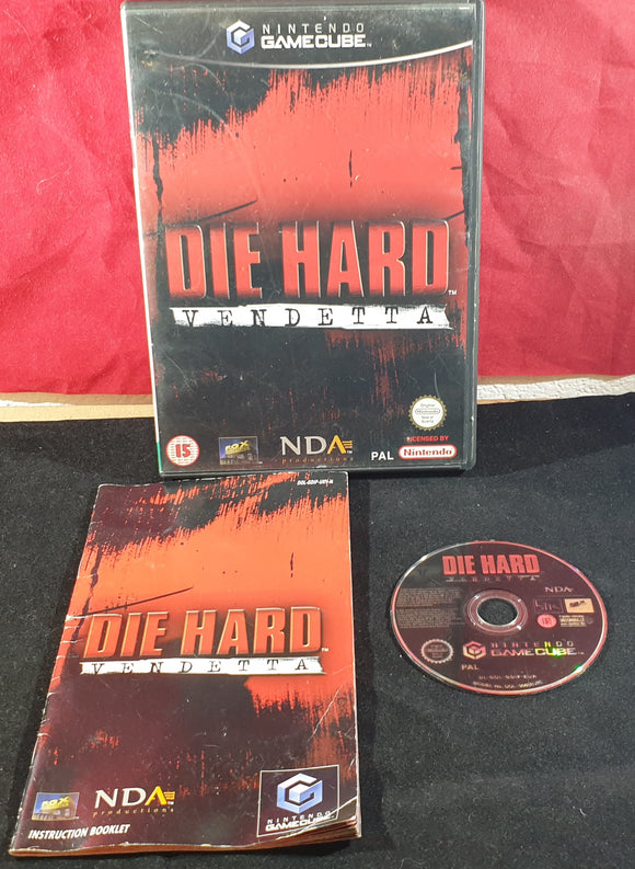 Die Hard Vendetta Nintendo GameCube Game
