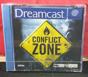 Brand New and Sealed Conflict Zone Sega Dreamcast Game