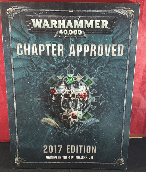 Warhammer 40,000 Chapter Approved 2017 Edition RARE Book