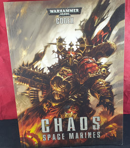 Warhammer 40,000 Codex Chaos Space Marines Book