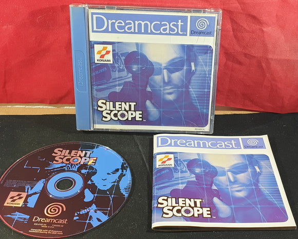 Silent Scope Sega Dreamcast RARE Game
