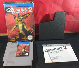 Gremlins 2 The New Batch Nintendo Entertainment System (NES) Game