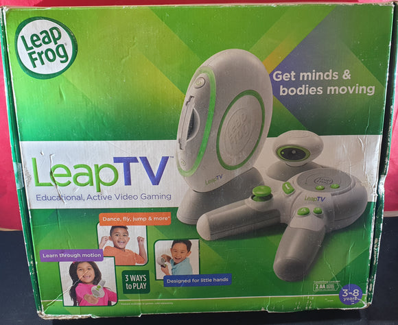 Boxed LeapFrog LeapTV Gaming System with Blaze and Pixar Pals
