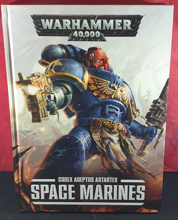 Warhammer 40,000 Codex Adeptus Astarties Space Marines Hardback Book