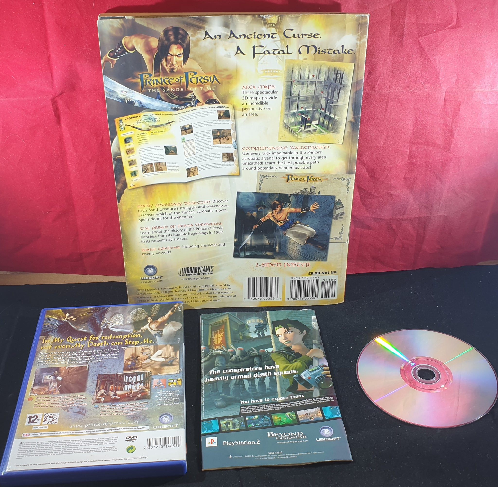 Prince Of Persia The Sands Of Time Strategy Guide Book Game Sony Pla Retro Gamer Heaven