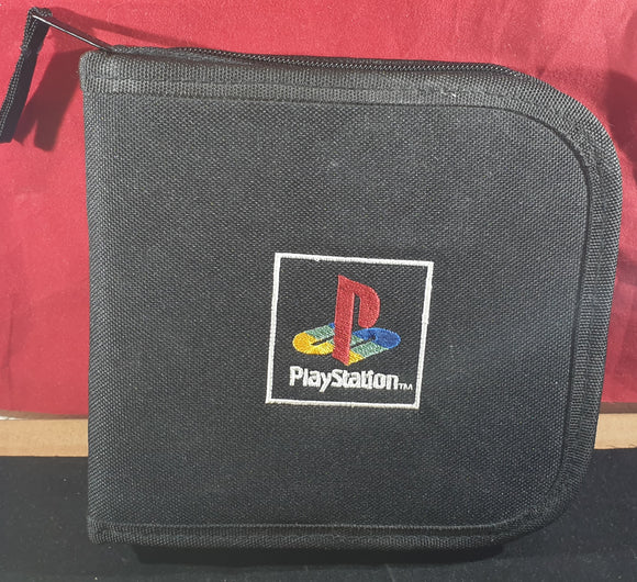 Official Black CD Carry Case Sony Playstation 1 (PS1) RARE Accessory