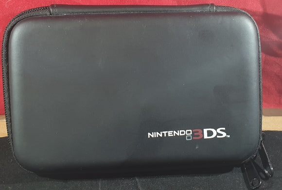 Official Black Carry Case Nintendo 3DS RARE Accessory