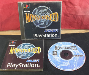 Monsterseed Sony Playstation 1 RARE Game