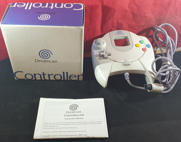 Boxed Official Controller Sega Dreamcast Accessory