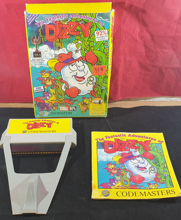 The Fantastic Adventures of Dizzy Nintendo Entertainment System (NES) Game