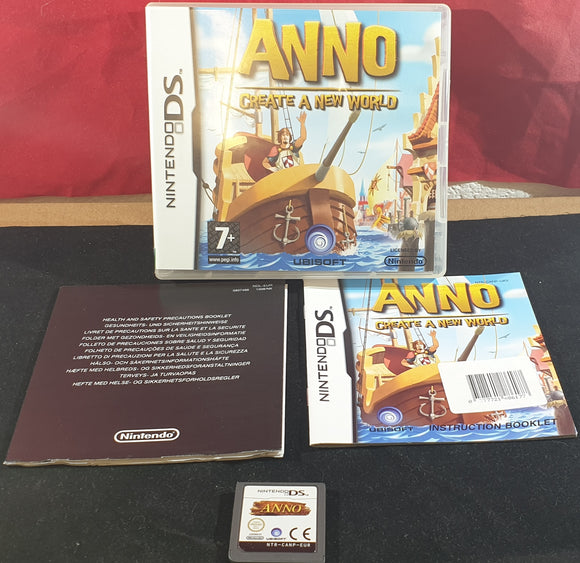 Anno Create a New World AKA Dawn of Discovery Nintendo DS Game