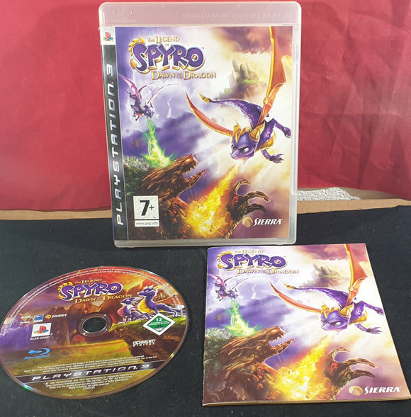 The Legend of Spyro Dawn of the Dragon Sony Playstation 3 (PS3) Game