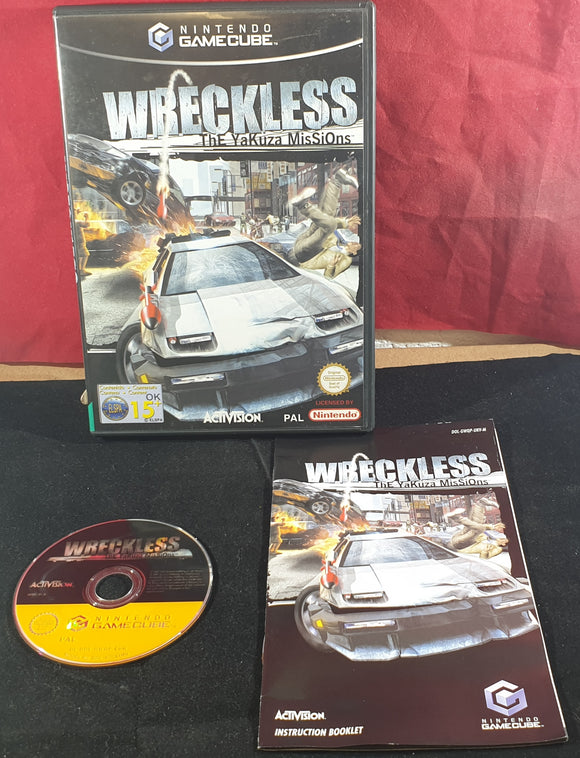 Wreckless The Yakuza Missions (Nintendo Gamecube) Game