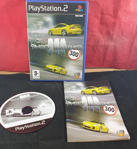 Speed Machines III Sony Playstation 2 (PS2) Game