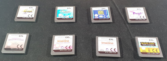 Child's X 8 Including Hannah Montana & High School Musical Cartridge Only Nintendo DS Game Bundle