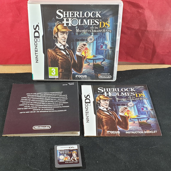 Sherlock Holmes and the Mystery of Osborne House (Nintendo DS) game