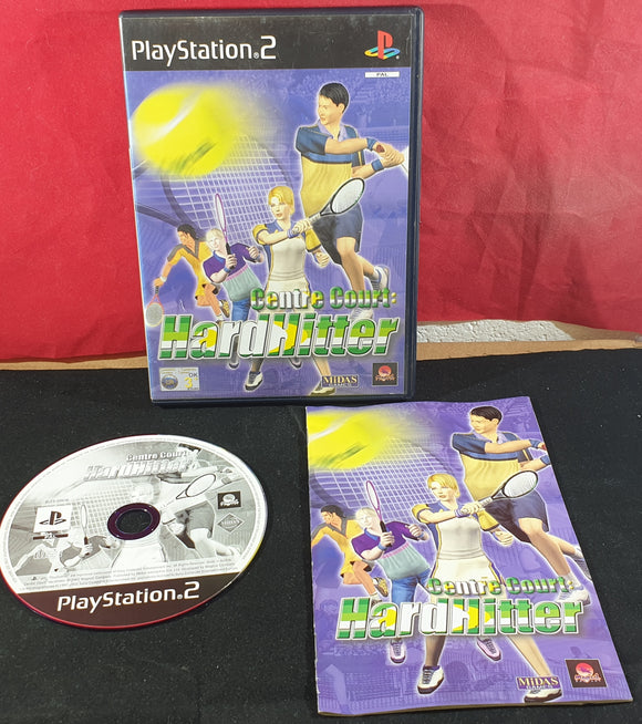 Centre Court Hard Hitter Sony Playstation 2 (PS2) Game