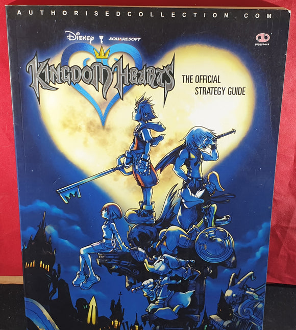 Disney Kingdom Hearts Official Strategy Guide Book