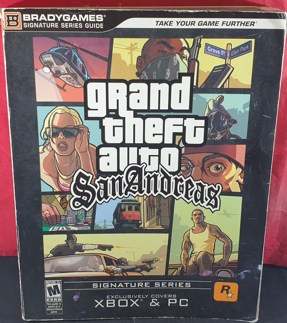 Grand Theft Auto San Andreas Brady Games Guide Book