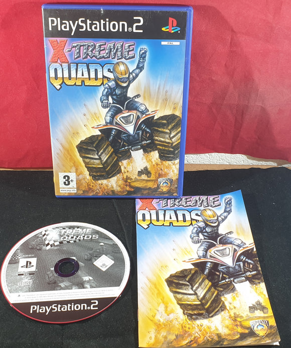 X-Treme Quads Sony Playstation 2 (PS2) Game