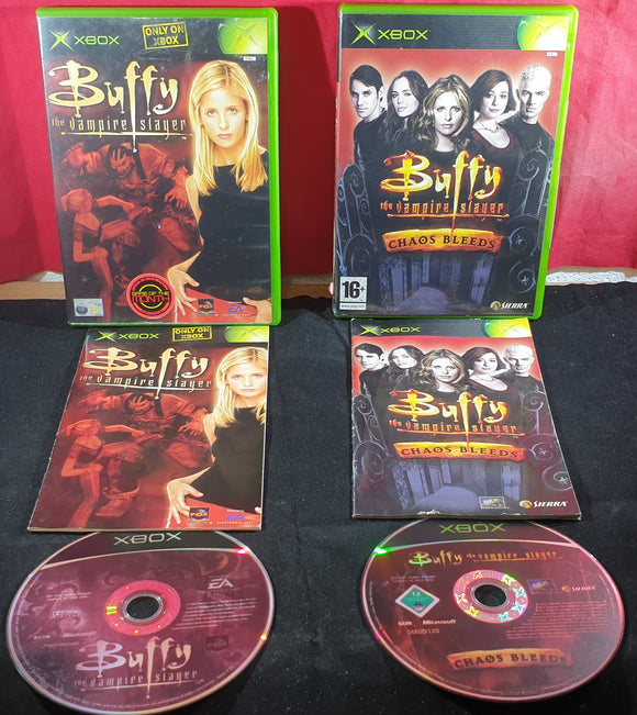 Buffy The Vampire Slayer & Chaos Bleeds Microsoft Xbox Game Bundle