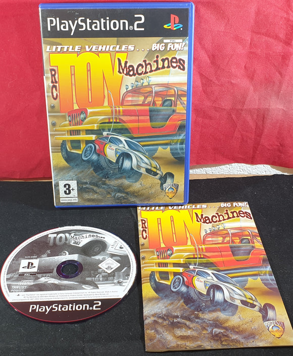 RC Toy Machines PS2 (Sony Playstation 2) game