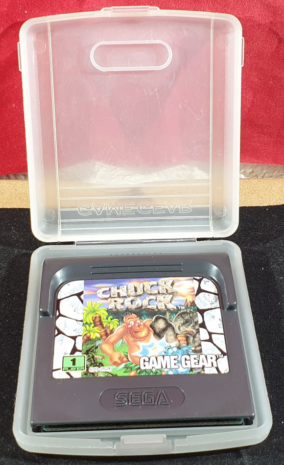 Chuck Rock Cartridge Only Sega Game Gear Game