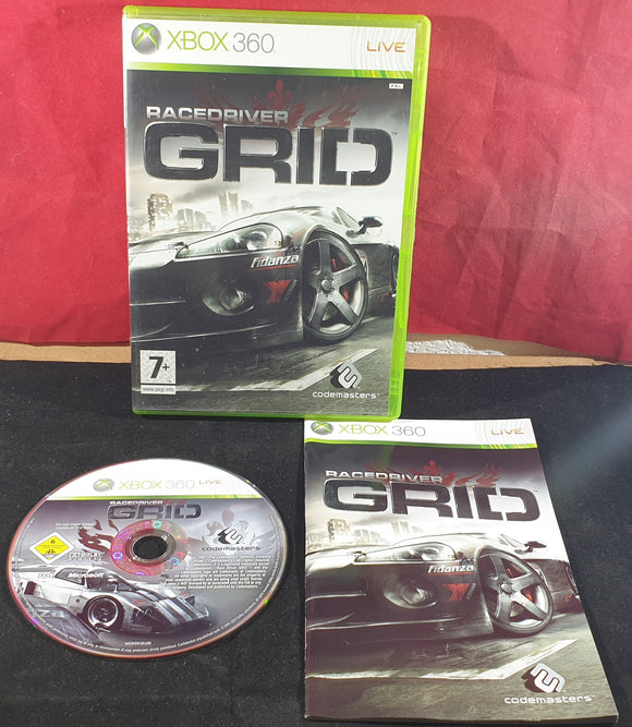 Race Driver Grid Microsoft Xbox 360 Game