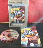 The Sims Bustin' Out Platinum Sony Playstation 2 (PS2) Game