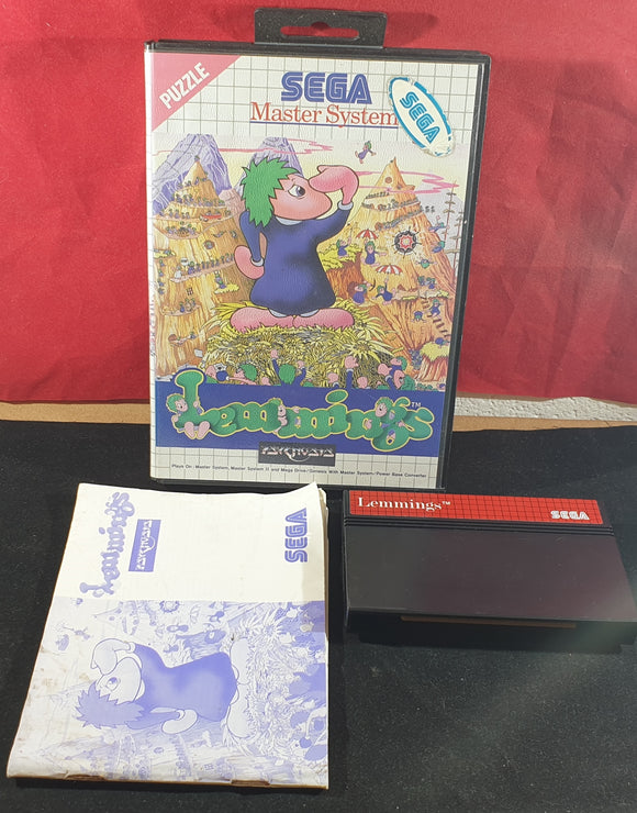 Lemmings Sega Master System Game