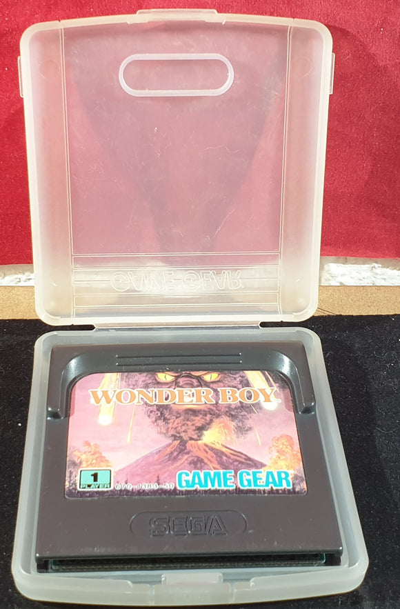 Wonder Boy Cartridge Only Sega Game Gear Game