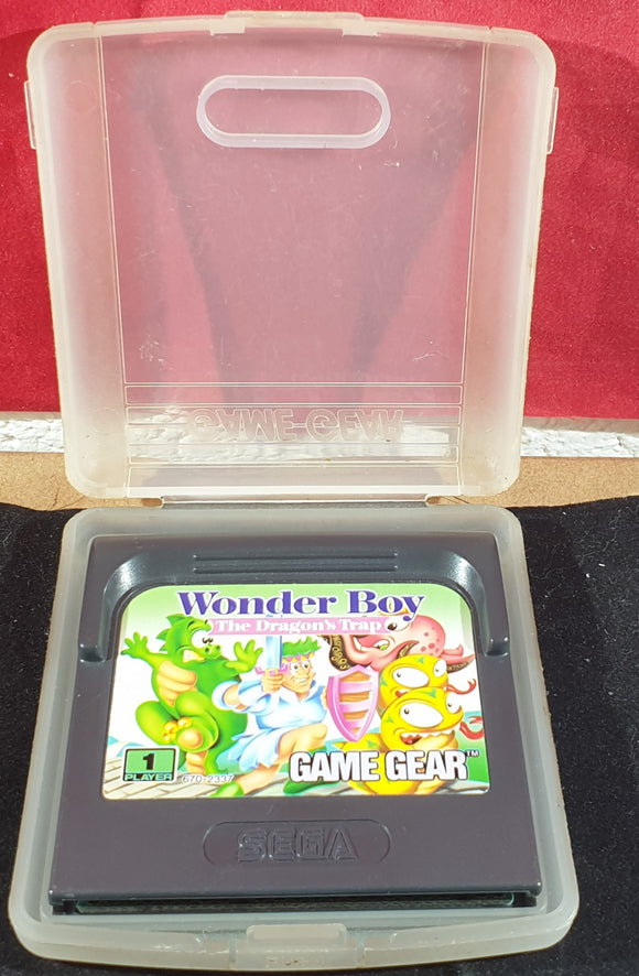 Wonder Boy The Dragon's Trap Cartridge Only Sega Game Gear Game