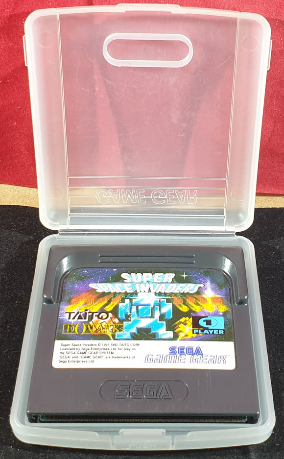 Super Space Invaders Cartridge Only Sega Game Gear Game