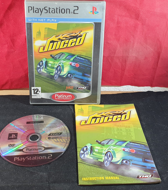 Juiced Platinum Sony Playstation 2 (PS2) Game
