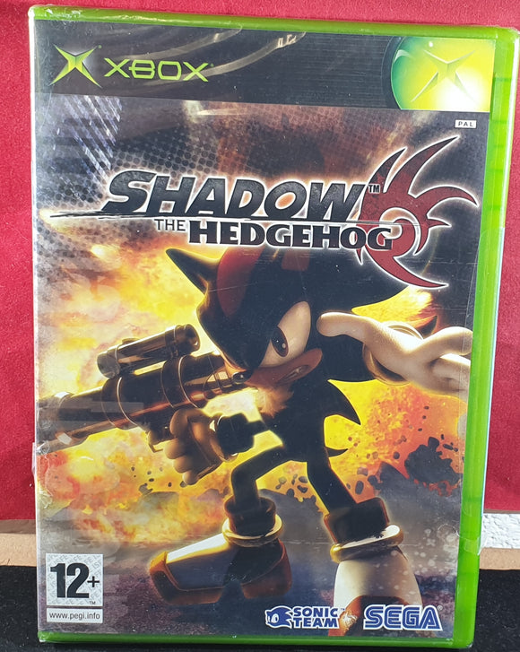 Brand New and Sealed Shadow the Hedgehog Microsoft Xbox Game