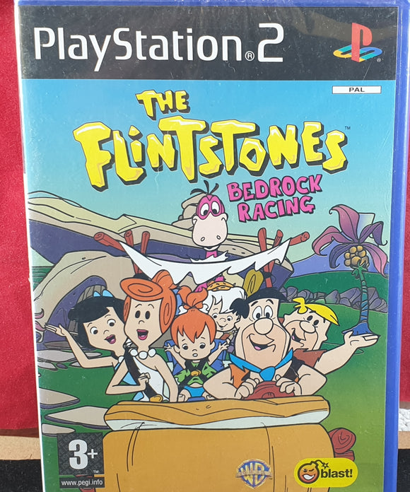 Brand New and Sealed The Flintstones Bedrock Racing Sony Playstation 2 (PS2) Game