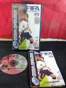 FIFA Road to World Cup 98 Sega Saturn Game