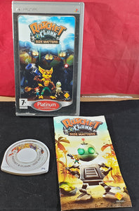Ratchet & Clank Size Matters Platinum (Sony PSP) Game