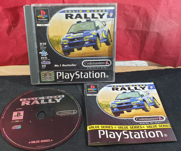 Colin McRae Rally Value Series Sony Playstation 1 (PS1) Game