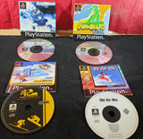Snowboard, Ski & Snowmobile X 4 Sony Playstation 1 (PS1) Game Bundle